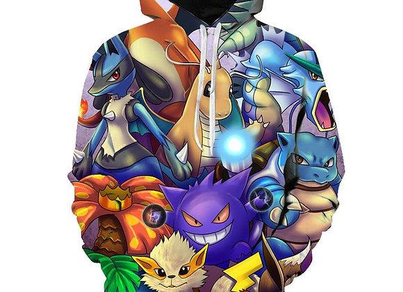 Pokemon Anime Sweatshirt