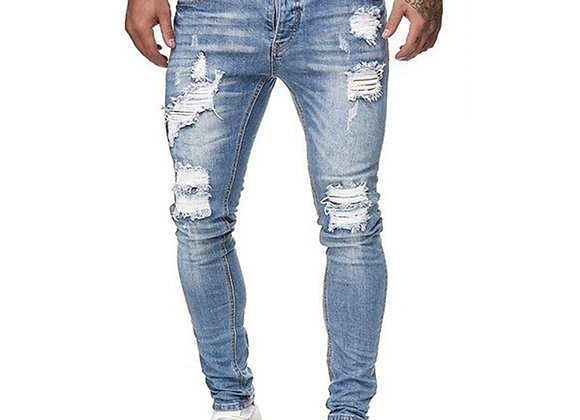 Cool Ripped Skinny Trouser