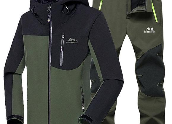 Softshell Fleece Coat Set