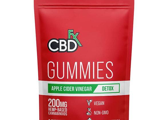 CBDfx - CBD Edible - Broad Spectrum Apple Cider Vinegar Gummies - 25mg
