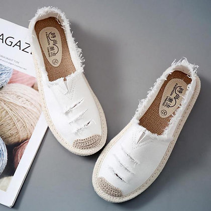 Canvas Shoes Loafers
