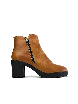 The Block Heel Camel