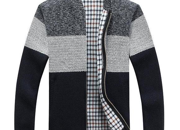 O Neck Long Sleeve Grey