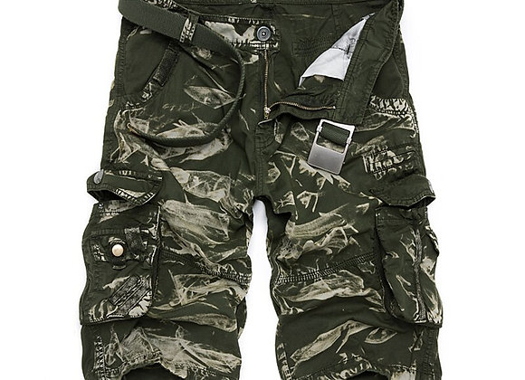 Loose Short Pants Camouflage