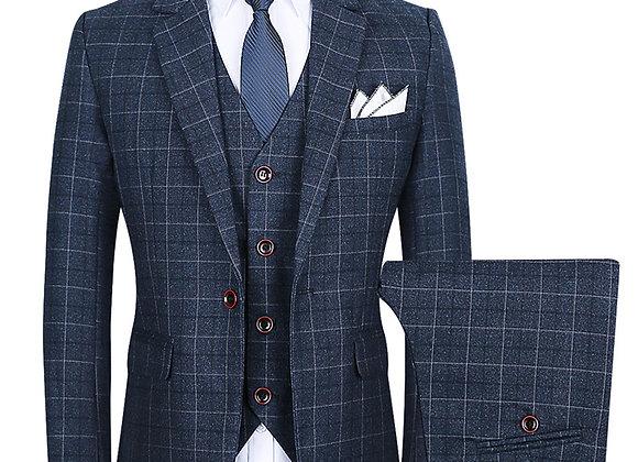 British Style Three-Piece Suit Men Suit