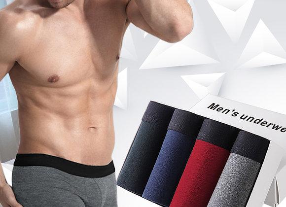 4pcs Men's Underwear Cotton