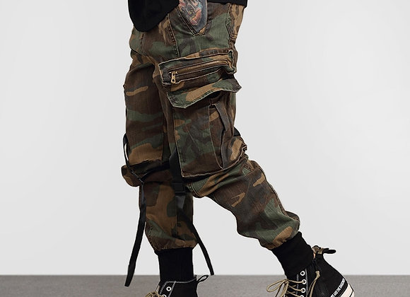 2020 Vintage Camouflage Cargo Pant
