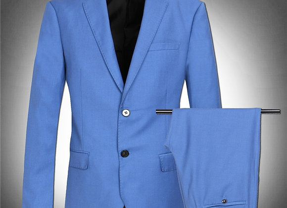 Light Blue Blazer Suit