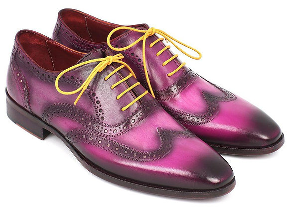 Men's Wingtip Oxfords Lilac
