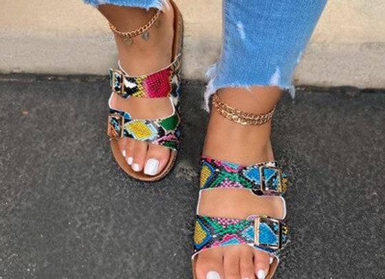 Open Toe Comfort Slip