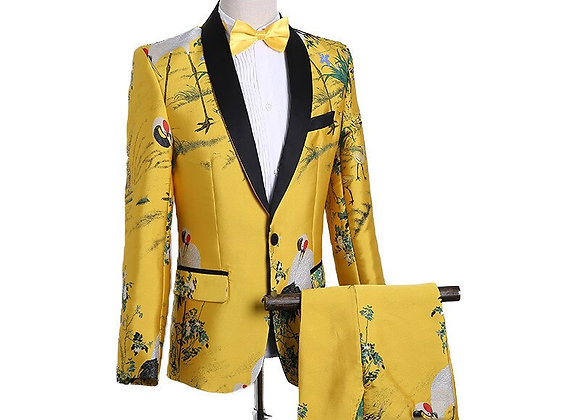 Yellow Dress Suit Nightclub