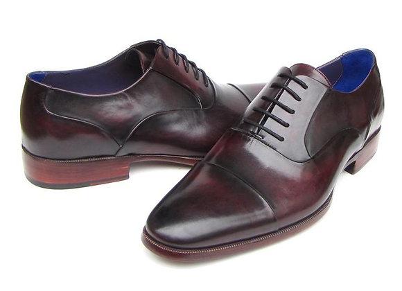 Oxfords Black Purple Shoes
