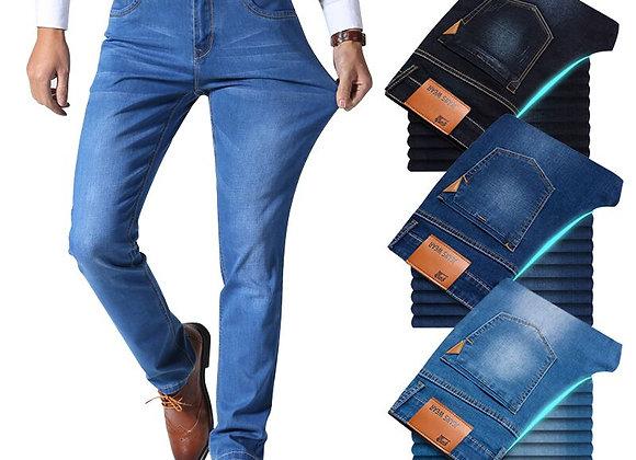 Slim Denim Pants Light Blue