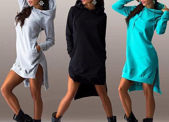 Long Sleeve Hooded Sweatshirt