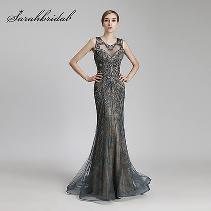 Long Mermaid Celebrity Dress