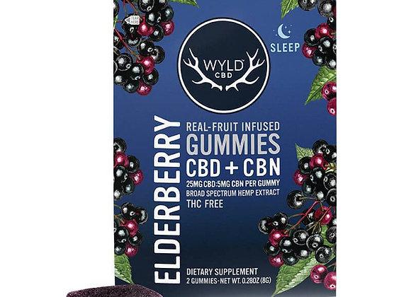 Elderberry CBN Gummies - 25mg
