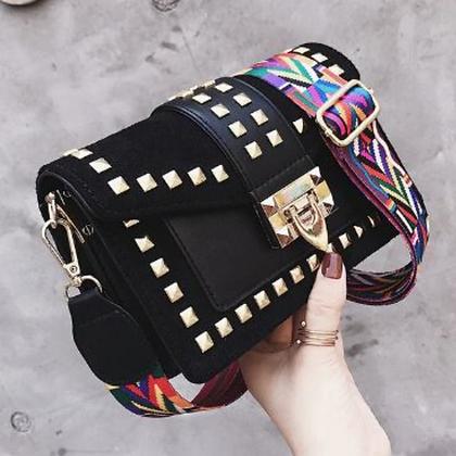 Betty Shoulder Bag -Velvet Black