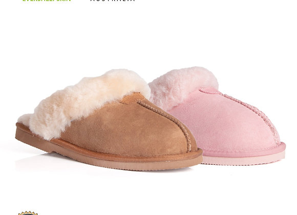 Genuine Sheepskin Lining, Suede Upper