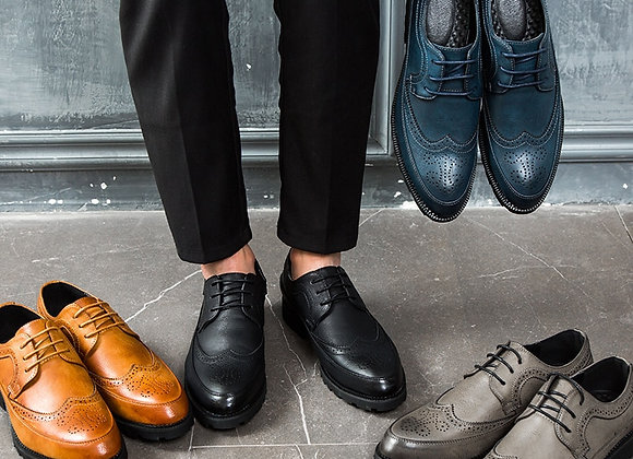 British Style Men Oxford