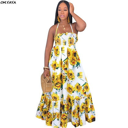 Summer Sunflower Dress