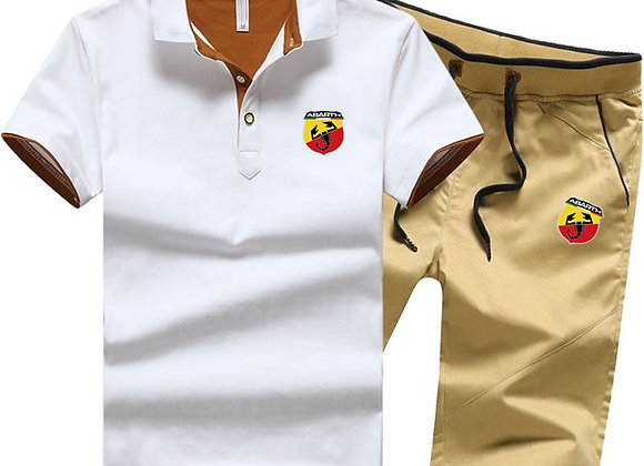 Men Cotton Polo T Shirt + Short Set