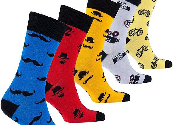 Men's Funky Hipster Socks