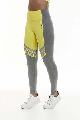 Yellow Waisted Legging