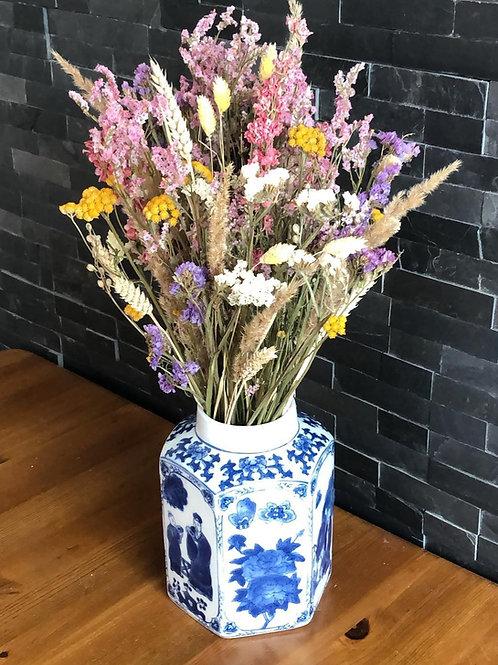 Rustic dried flowers