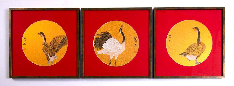 Chen Huiyu Bird Series No.1,2,3