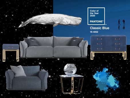 Pantone назвал главным цветом 2020 года классический синий 💙