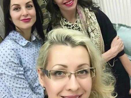 Мастер класс на канале ТВК tvk6_tv Евгенией Головиной golovinazhenia и Лейлой Исаевой leila_isaeva