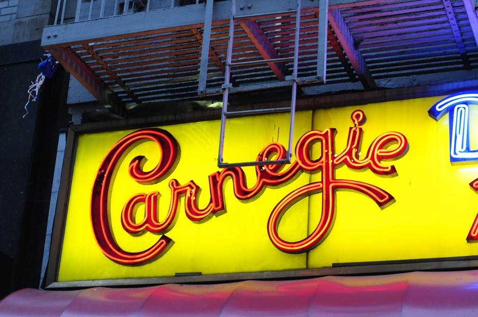 Throwback Thursday at Carnegie Deli