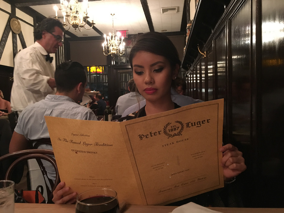 The Famous Peter Luger Steakhouse