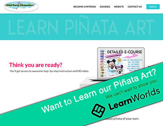 Learn Cool Piñata Art