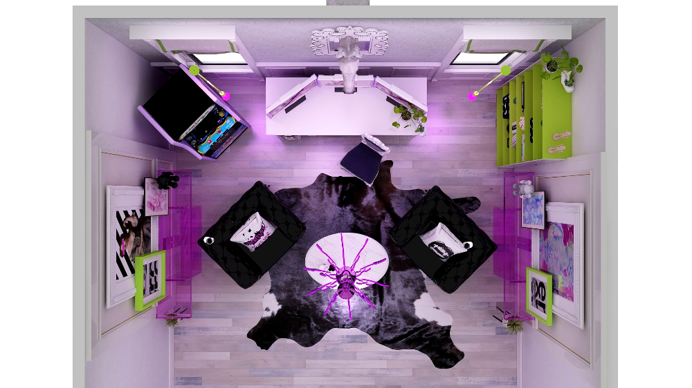3D edesign cieling view