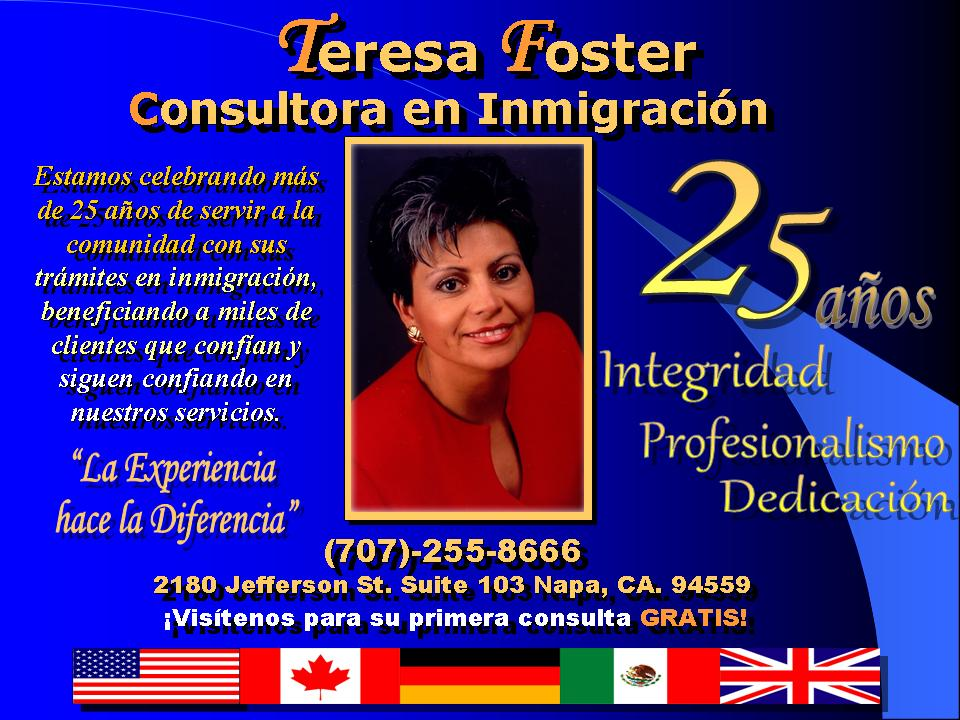 Teresa Foster Immigration Consultant