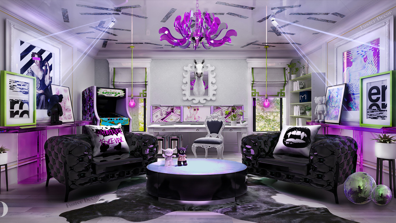 3D Edesign living room interior design