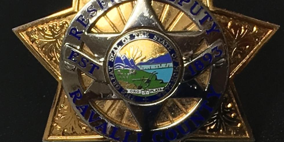 Ravalli County Reserve Deputy - Seeking Volunteers