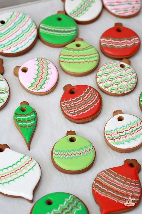 Cookie Decorating - Sugar Cookies and Royal Icing (Mon.) 6:30-8:30