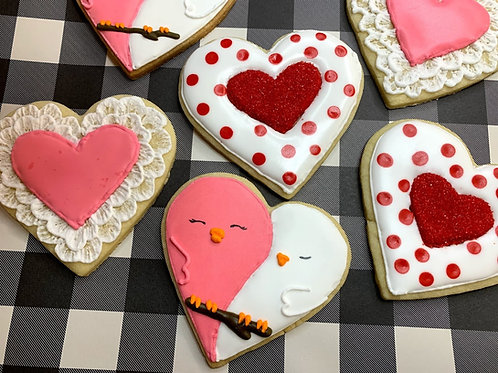 Valentine Hearts Kit - (Decorating Kit & Video Series Included)