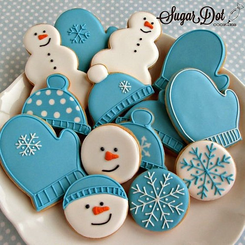 Cookie Decorating - Sugar Cookies and Royal Icing (Tue.) 5:45-7:45
