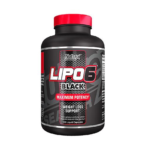 LIPO 6 BLACK – 120 CAPS NUTREX