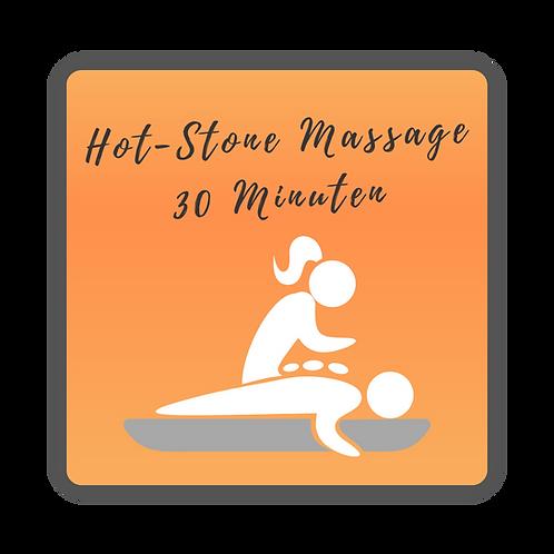 Hot-Stone-Massage - 30 Minuten
