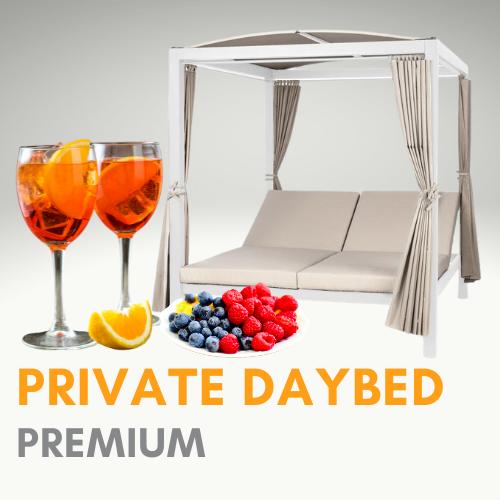 Daybed Premium (ohne Eintritt)