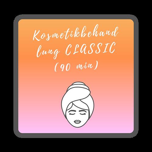 Kosmetikbehandlung CLASSIC (90 min)