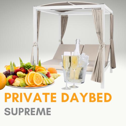 Daybed Supreme (ohne Eintritt)