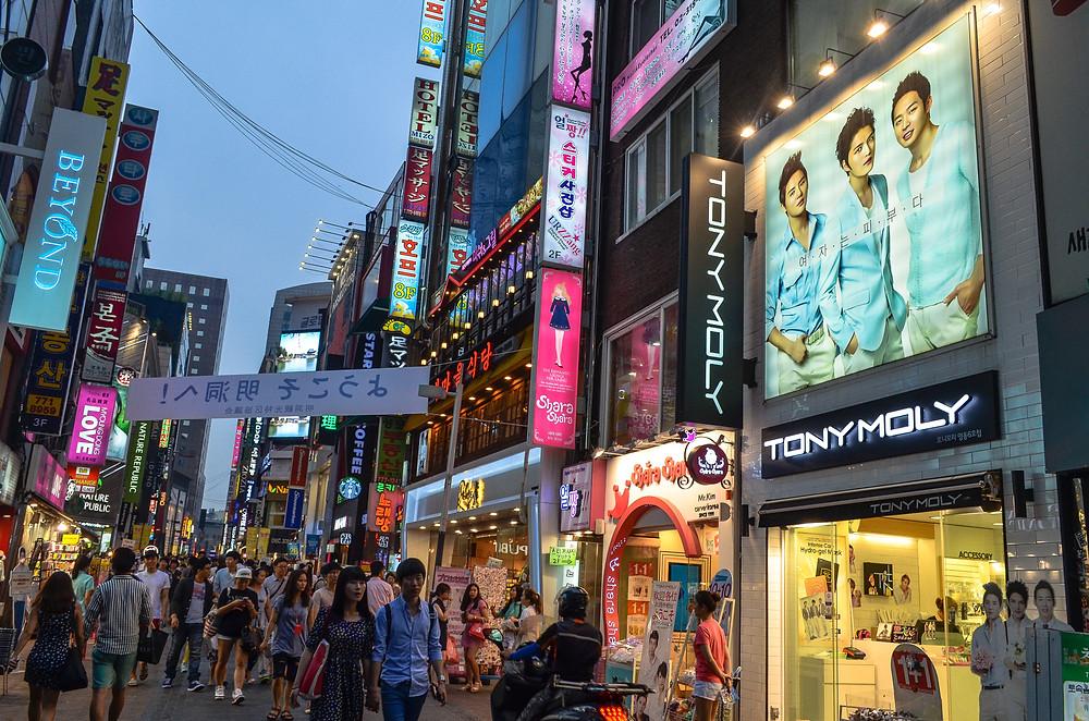 Shopping in South Korea