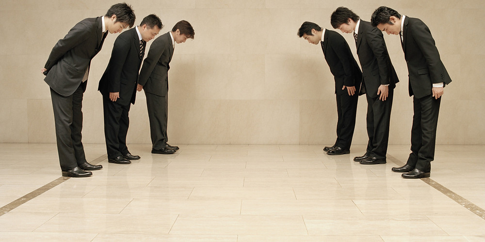 Bowing in Korea
