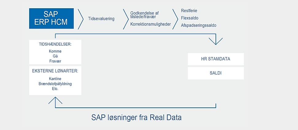 Tidsregistrering SAP interface