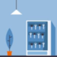 Adgagskontrol (ADK) med elektronisk nøgleskab til nøglestyring - Real Data A/S